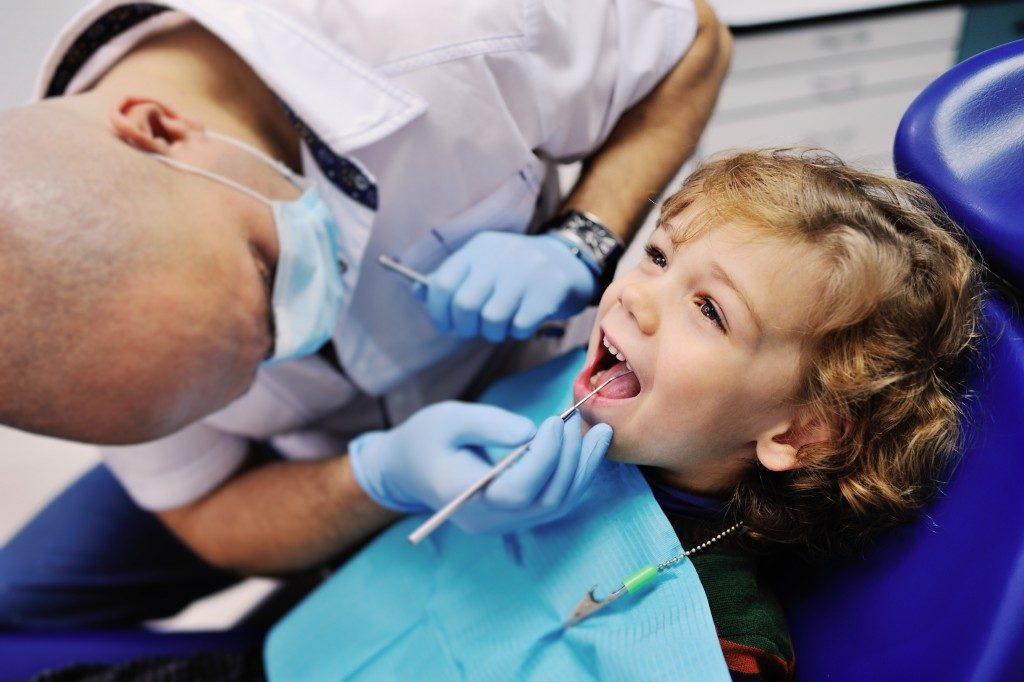 Visiting the dentist