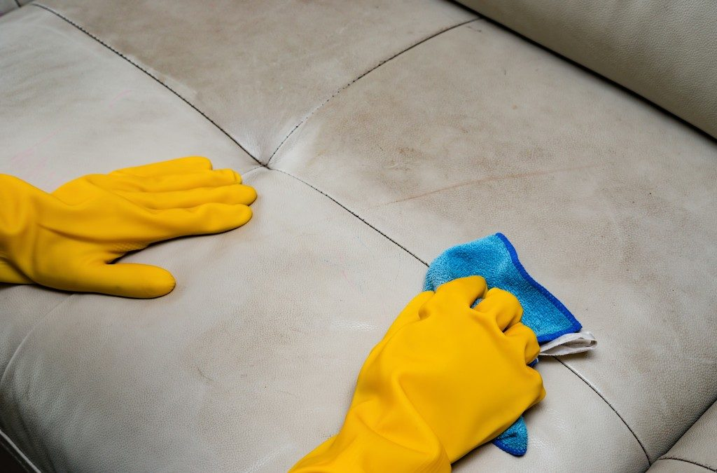 cleaning couch