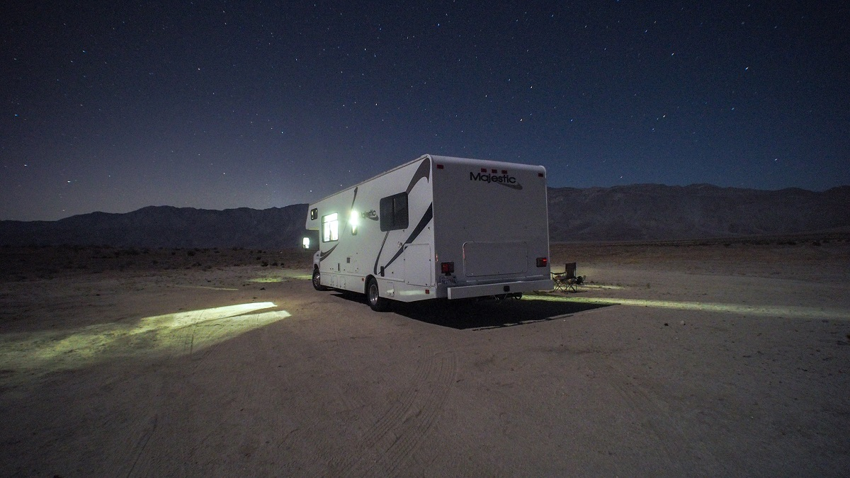 mobile camping with RV