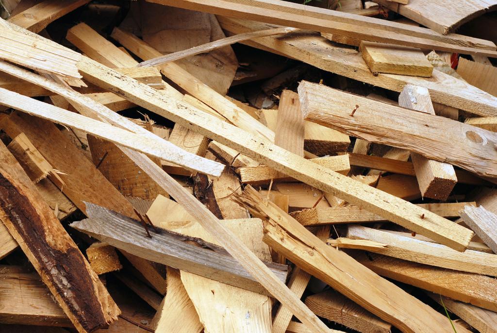 wood debris