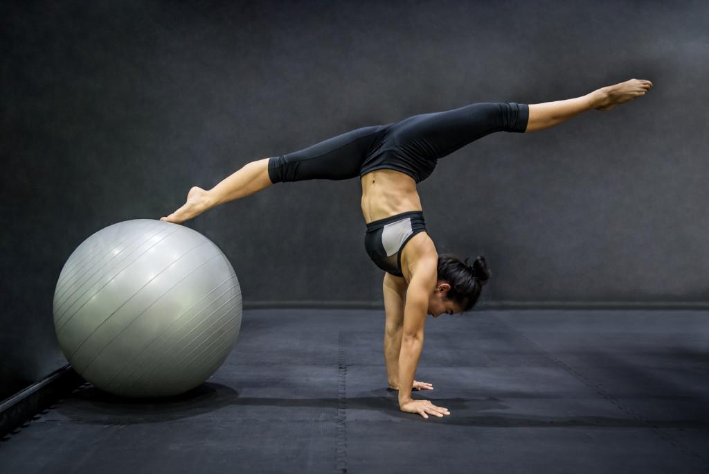 exercising concept