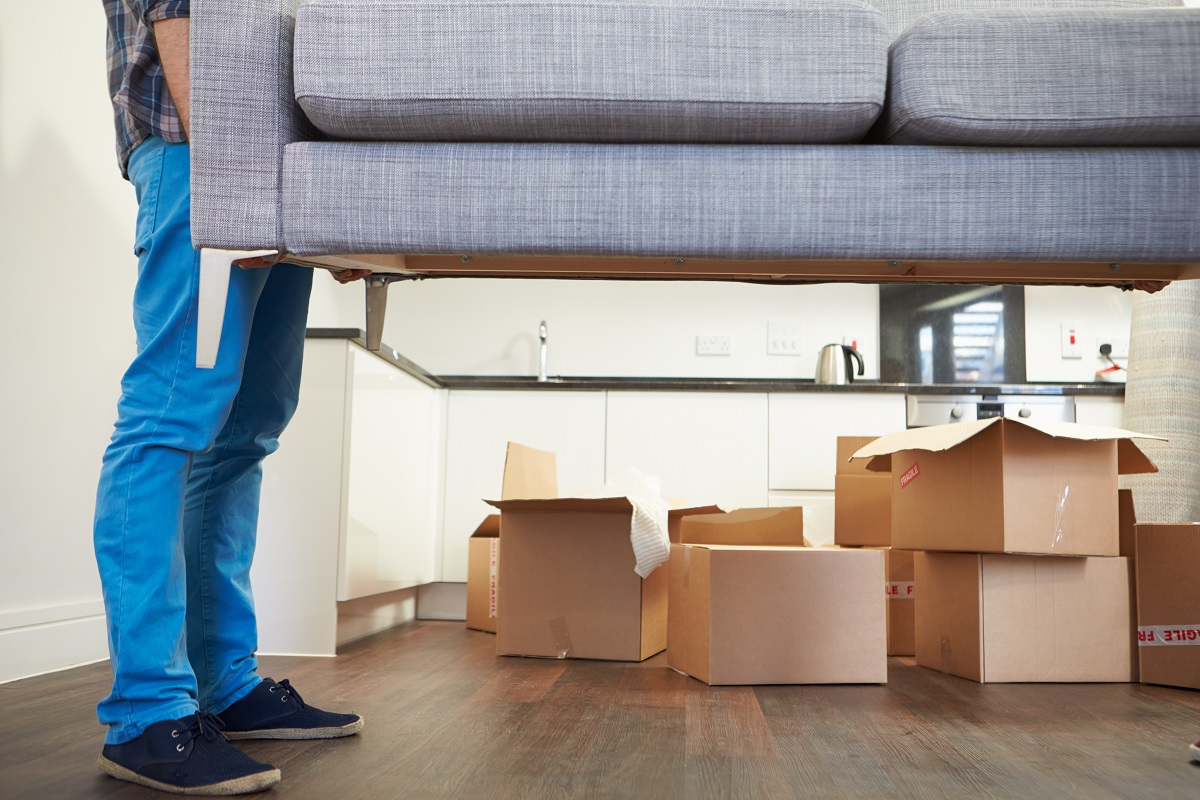 moving sofa