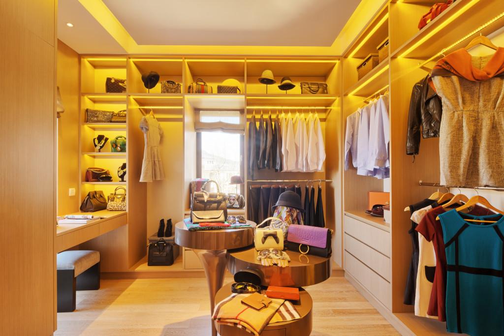 house wardrobe